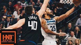 Minnesota Timberwolves vs LA Clippers Full Game Highlights | 02/11/2019 NBA Season