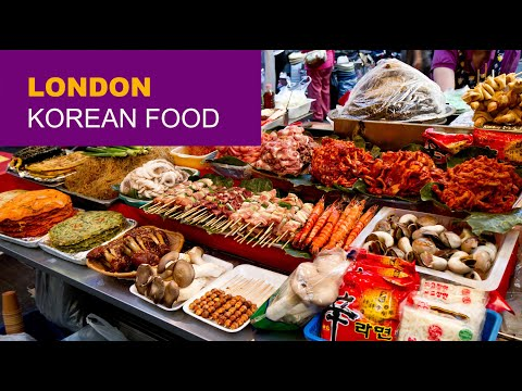 Tour of London's Oseyo - Korean Food Store and Cultural Centre.  Korean foods, toys, stationary