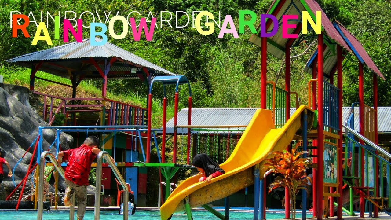 Taman rekreasi bermain paling sederhana ( Rainbow Garden ...