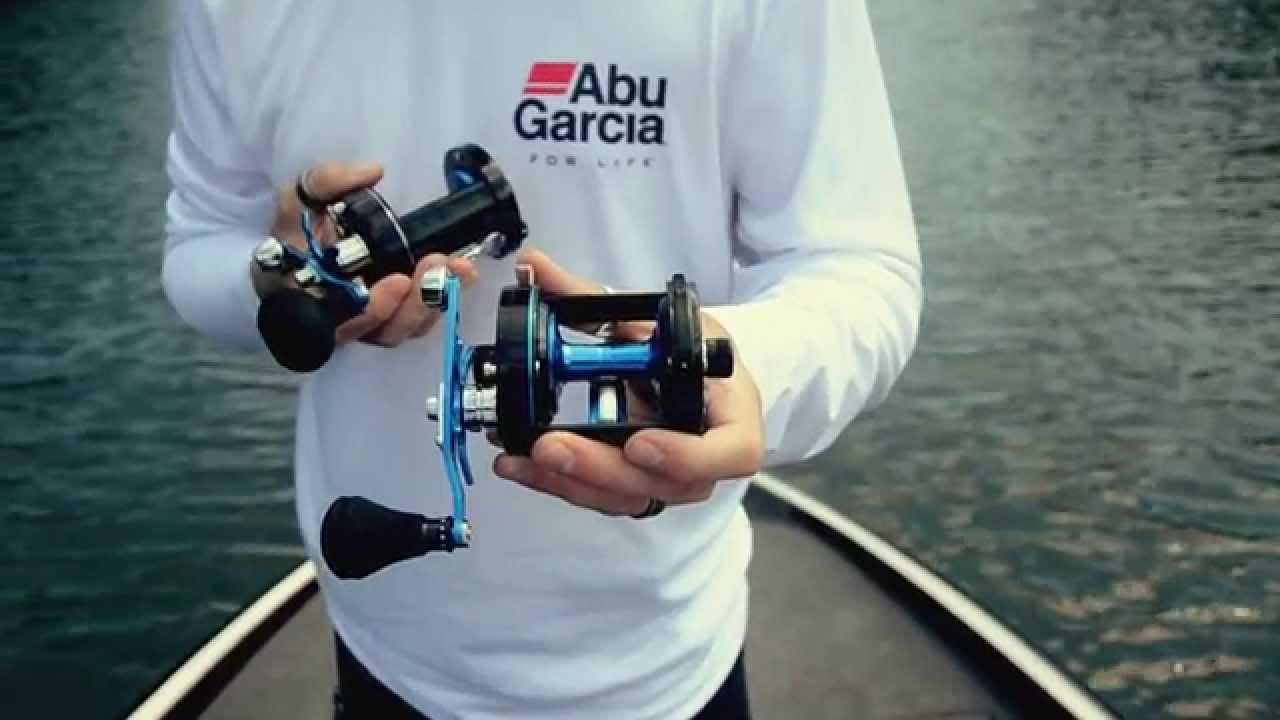 New for 2015 - Abu Garcia Blue Yonder Round Reel