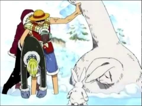 A Relatively Cute Moment In One Piece