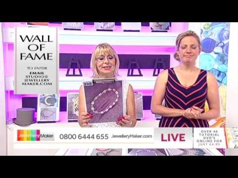 'How to Make Bridal Jewellery' - JewelleryMaker LIVE 24/7/14