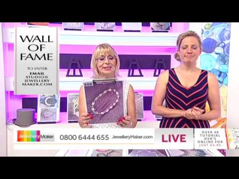 'How to Make Bridal Jewellery' - JewelleryMaker LIVE 24/7/14