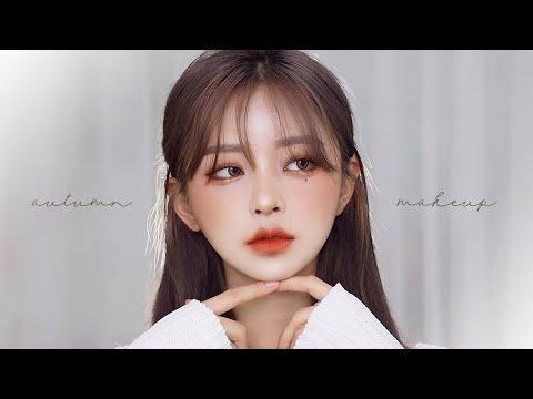 Daily Autumn Glam Makeup Tutorial - YouTube