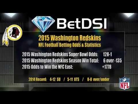 Washington Redskins Odds | NFL Picks and 2015 Team Preview