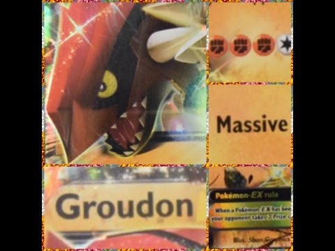 Pokemon Groudon Primal Clash Earth's Pulse Theme Deck Trading Cards Game