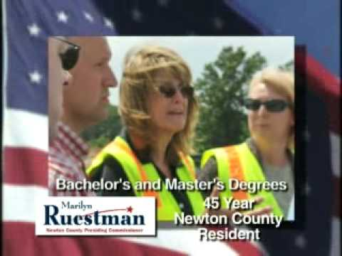 Marylin Ruestman for Newton County Presiding Commissioner