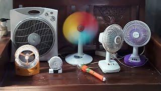 Ray's FAN COLLECTION desk Fan, stand Fan, mini Fan - koleksi kipas angin