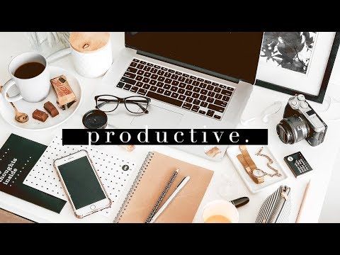 Planning A PRODUCTIVE End Of 2018 | Goal Setting, Calendars & To-Do