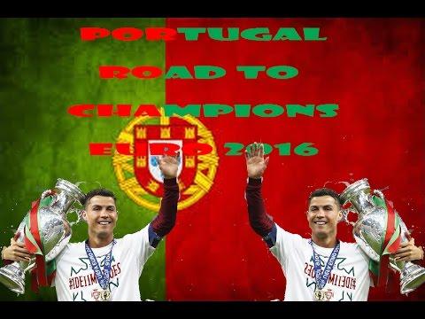 TRIBUTE TO   POTUGAL EURO 2016 -Perjalanan Portugal Sebagai Pemenang
