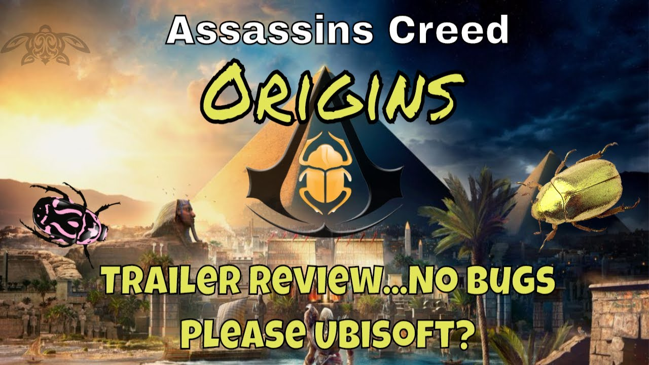 Assassin S Creed Origins Gameplay Trailer Review Looks Like