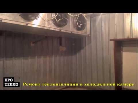 видео: Видео ремонт холодильной камеры по хранению рыбы