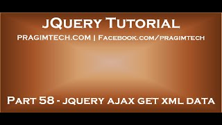 jQuery Ajax Get XML Data
