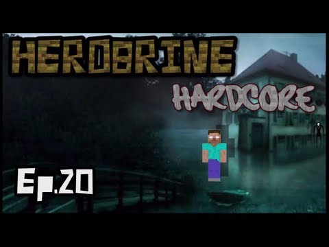 Herobrine HARDCORE 2 (Ep.20 - SCARIEST MOMENT EVER)
