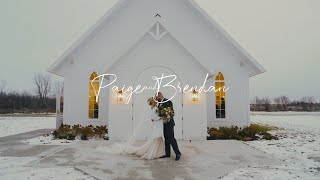 Paige & Brendan | Wedding Film | Stonefields Estate, Carleton Place, ON