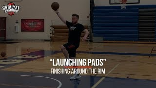 """Launching Pads"" - Finishing Around The Rim"