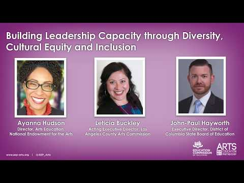 Panel Discussion: Building Leadership Capacity Through Diversity, Cultural Equity and Inclusion