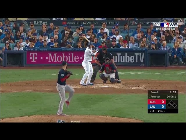 Joc Pederson Go-Ahead Solo Home Run vs Red Sox | Dodgers vs Red Sox World Series Game 3