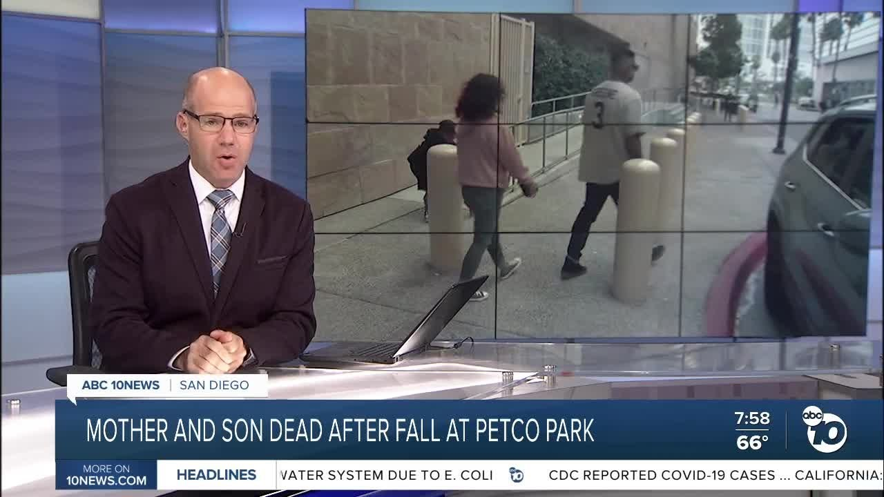 Mother, Toddler Die After Fall at Petco Park