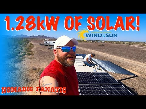 1280-watts-of-solar-on-rv-roof-&-water-update