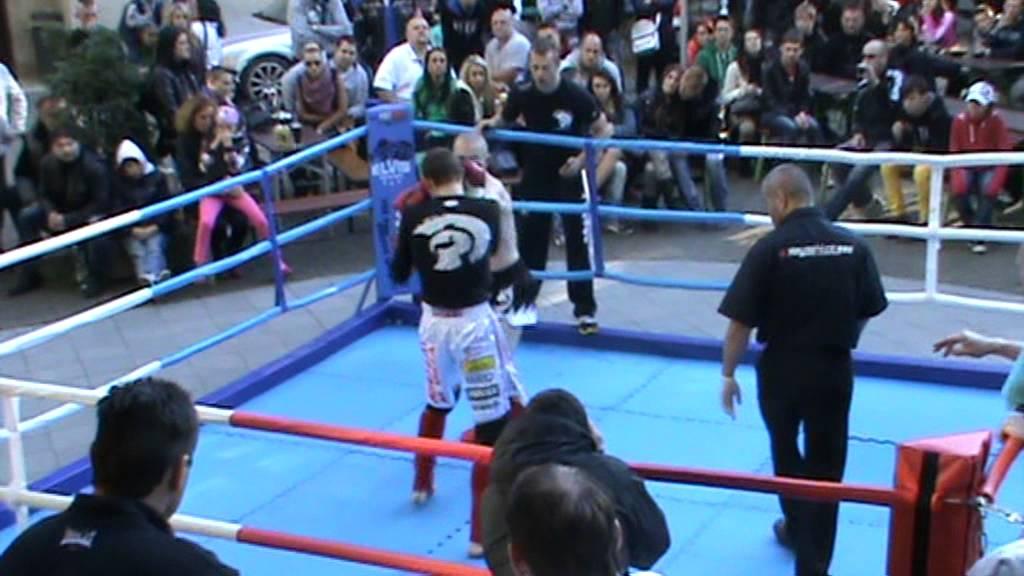 bbd2c44139 68 Full muay thai Jiří Krutílek Elvis Gym Miroslav Vašíček Elite Gym Trenčín  Round 2