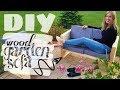 DIY - wood garden sofa