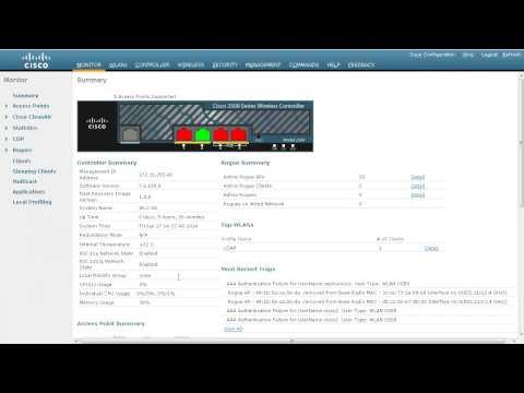 Windows AD as LDAP server on CUWN controllers
