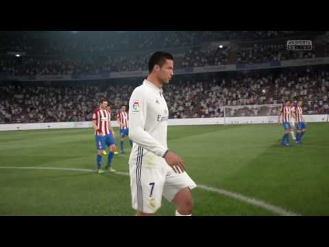 FIFA 17 GAMEPLAY XBOX ONE | REAL MADRID VS ATLÉTICO DE MADRID | EL  DERBY | 1080p FULL MATCH TV MODE