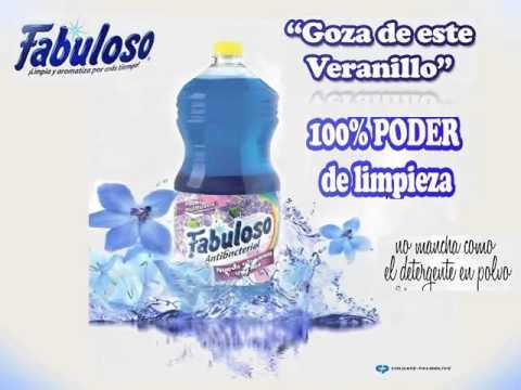 Comercial de mi producto fabuloso youtube for Anuncios de productos de limpieza