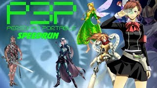 Persona 3 Portable Speed Run: Normal True Ending 11:30:10