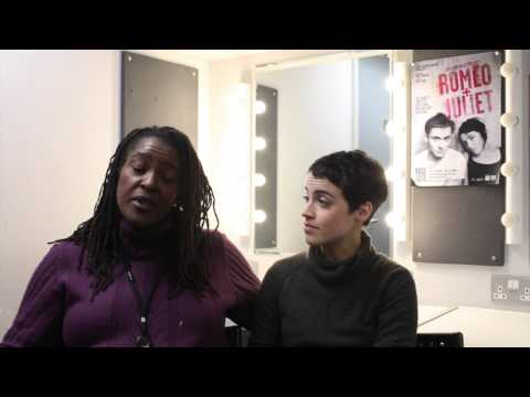 60 Seconds with Sharon D Clarke and Audrey Brisson