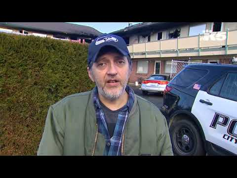 Tenant describes aftermath of Everett apartment fire