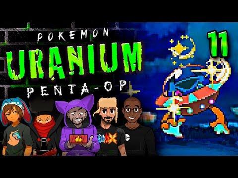 "Pokémon Uranium 5-Player Nuzlocke - Ep 11 ""THE UNREAL SHINY LUCK"""