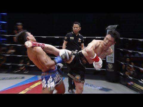 Qiu Jianliang KO knocked down the highlights, and the gold right leg has half the credit