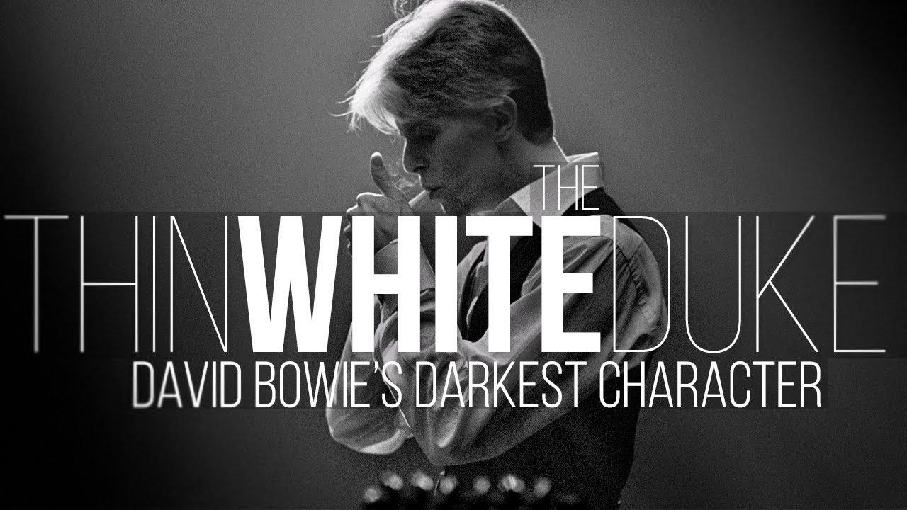 The Thin White Duke: A Close Study of David Bowie's Darkest