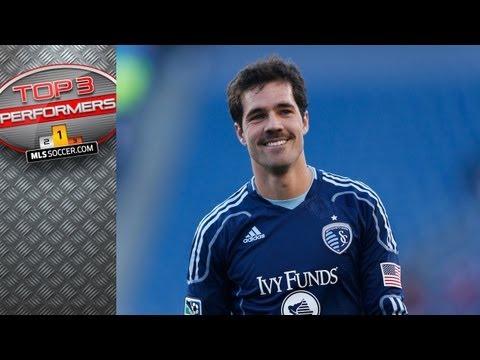Top 3 MLS Performers Week 5 - Benny Feilhaber, Will Johnson, Luis Gil