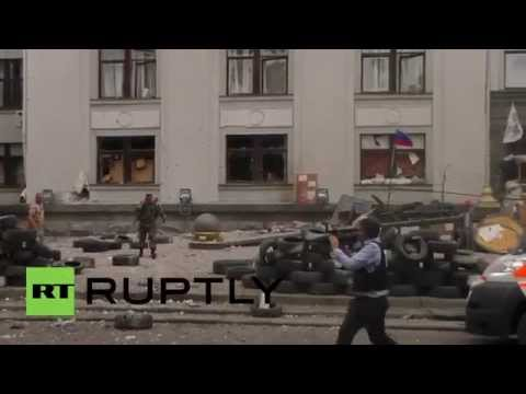 Ukraine: Multiple casualties in jet-bomber attack *GRAPHIC*