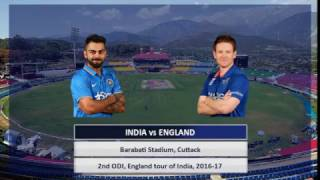 Highlights India vs England 2nd ODI in Cuttack