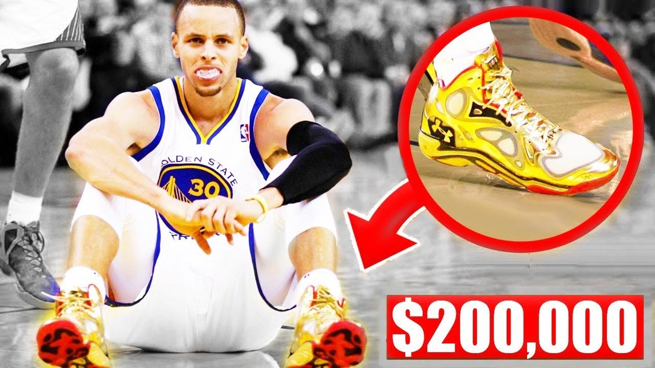 The Most Expensive Shoes Worn In An Nba Game Stephen Curry