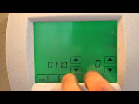 How to Over-ride the settings on your Honeywell Thermostat