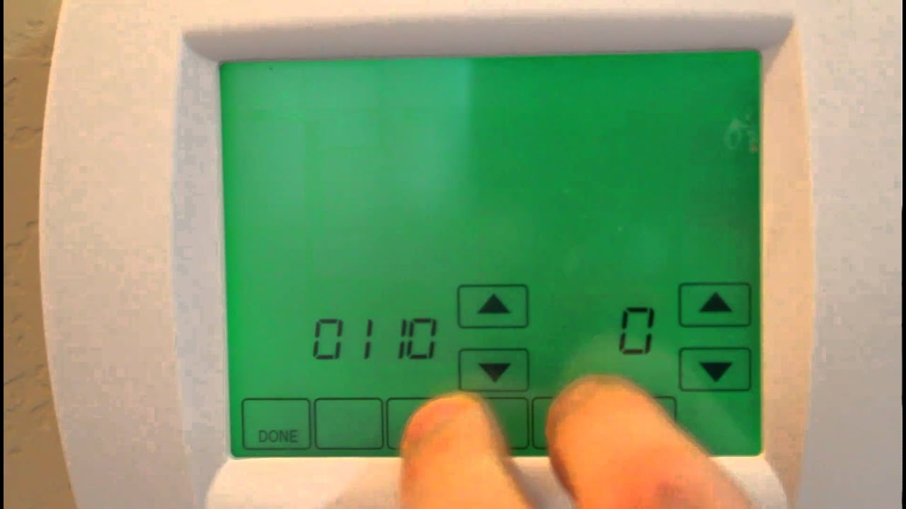 maxresdefault how to over ride the settings on your honeywell thermostat youtube  at soozxer.org