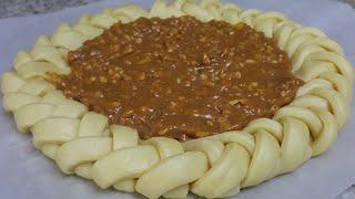 Рецепт просто бомба Пирог косичка с очень вкусной начинкой