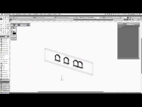 Vectorworks 2,5D Objekte im 3D