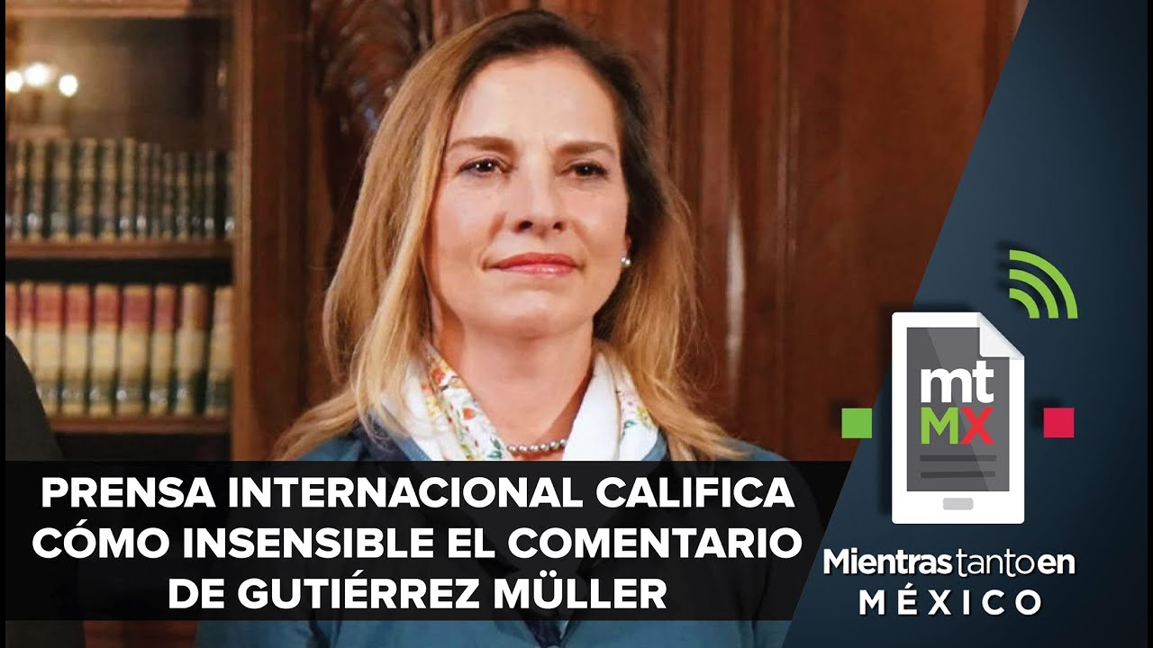 Polémica de Beatriz Gutiérrez Müller llega hasta el NYT