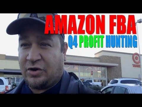 AMAZON FBA Q4 TOY HUNTING FOR PROFIT | RETAIL ARBITRAGE