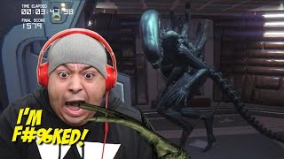 Repeat youtube video WHY THE F#%K YALL GOT ME PLAYING THIS!!?? [ALIEN ISOLATION]