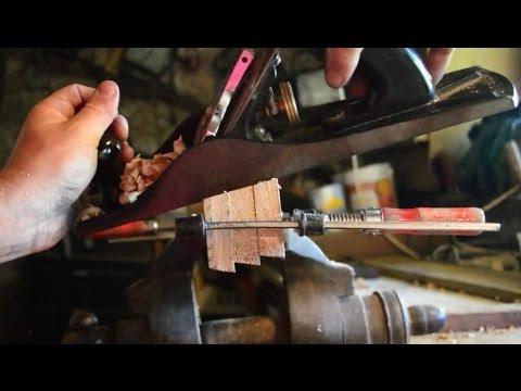 faire main: porte de cuisine en bois de récupération sans vis, détaillé avec astuces part2