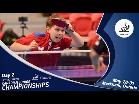 2018 ITTF Canadian Junior & Cadet Open - Day 2