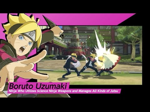 NARUTO SHIPPUDEN: Ultimate Ninja STORM 4: Road to Boruto Expansion Youtube Video