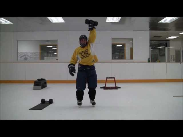 Golden Glide Hockey Synthetic Ice Fitness